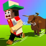 Rodeo Rush - Survive Bull Stampede