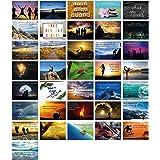 Clever Pool 36 vykort liv visdom motivationskort tränare material jag gratulationskort set bilder med visdom jag citat kort b