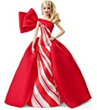 Barbie- Holiday Doll Bambola Bionda da Collezione, Giocattolo per Bambini, Magia delle Feste 2019, 6 + Anni, Multicolore, FXF01