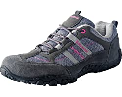Knixmax Women's Men's Lightweight Walking Shoes Trainers Hiking Trekking Approach Shoes Low Rise Outdoor Boots