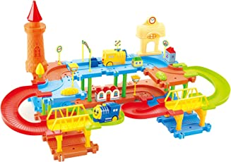 Webby Educational Kids Building Block Train(Multicolour) - Set of 45