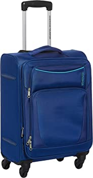 American Tourister Portland Softside Spinner Luggage Cabin trolley 55cm with TSA Lock - Blue
