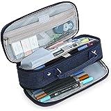Grande Capacité Trousse à Crayons Porte-stylo Stockage Crayon Sac Portable Bureau Scolaires Papeterie Sac avec Poignée pour L
