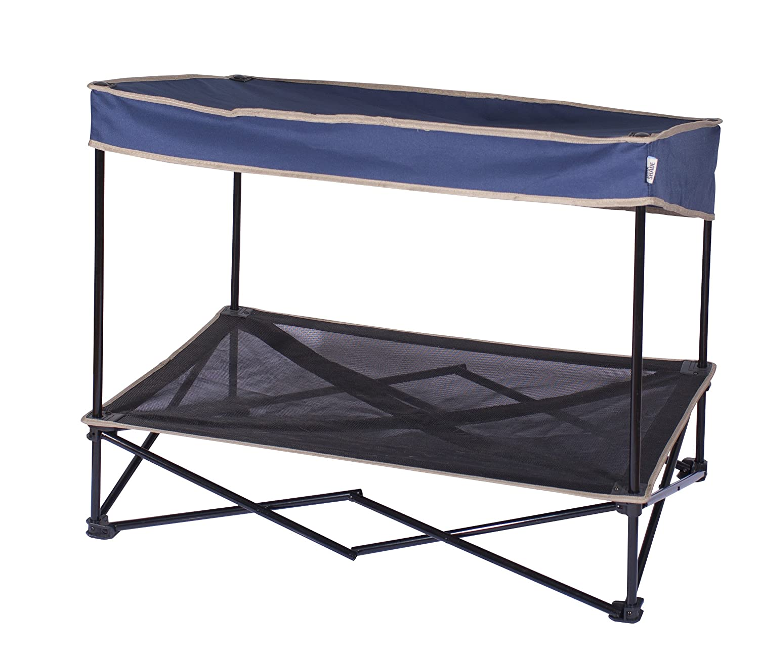 Quik Shade Pet Outdoor Instant With Elevated Mesh Bed Medium 61 X 91 74 Cm 4 Kg Navy Blue Amazoncouk Supplies