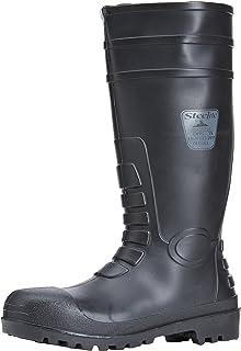 5 UK Black - 38 EU Noir Blackrock Sf43 Chaussures de s/écurit/é Homme