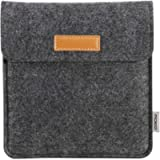 MoKo Sleeve Compatible with Kindle Oasis 2019/2017, Protective Felt Accessories Cover Case Pouch Bag with Dual Pockets…