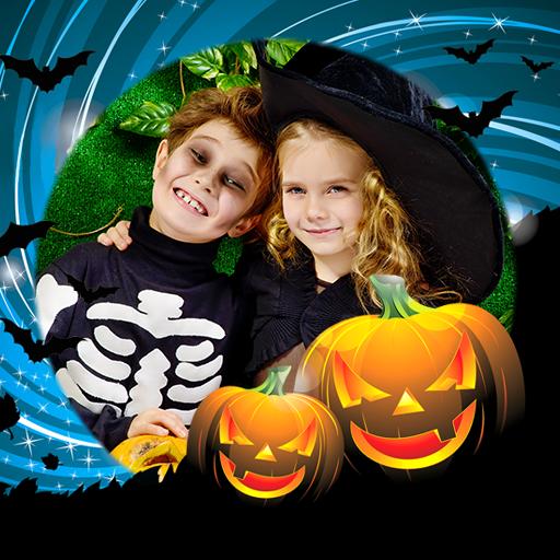 Frame Halloween Kostüm - Halloween-Fotorahmen