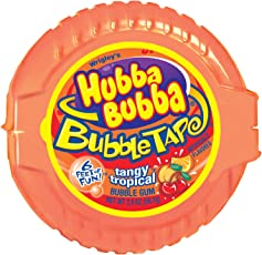 Hubba Bubba Tangy Tropical Bubble Tape, 56g (9058)