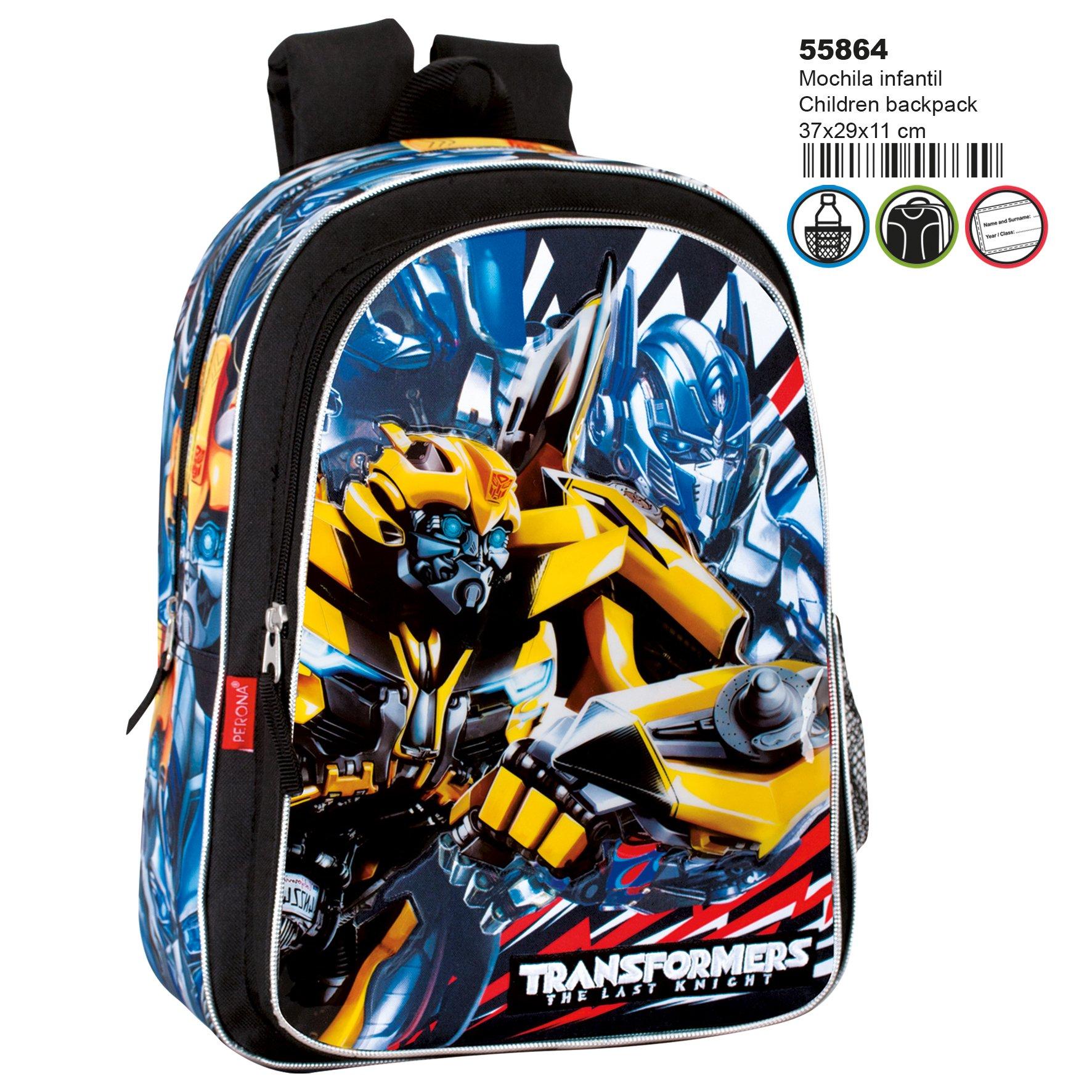 81Lo%2BRwt 2L - Transformers Mochila Infantil Escolar, niño