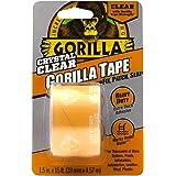 Gorilla Clear Reparatie tape: 1-1/2 in. x 15 ft. (Doorzichtig) / retail-packaged