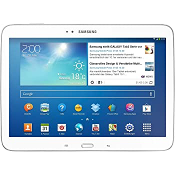 """Samsung GT-P5210 Tablette Tactile 10.1 """" Android Blanc"""