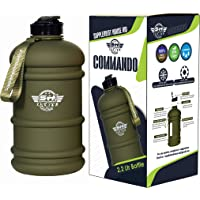 Supplement House Ind - 2.2 Litre Tritan Water Bottle - Now with Easy Drink Cap - Durable & Extra Strong - BPA Free…