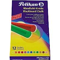 Pelikan Tafelkreide (1x 12er Packung, Farbig)