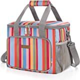 LUNCIA 15L Kühltasche Thermotasche Cooler Bag Lunchtasche Thermo Tasche Picknicktasche isoliert faltbar für Lebensmitteltrans