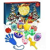 Sakmilu Fidget Adventskalender 2021, sensory speelgoedset, kerstkalender met 24 sensorische fidget-speelgoed, push anti-angst
