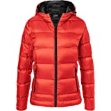 James & Nicholson Ladies' Hooded Down Jacket Giacca Donna