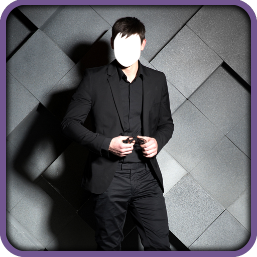 Mann-Anzug-Foto-Montage