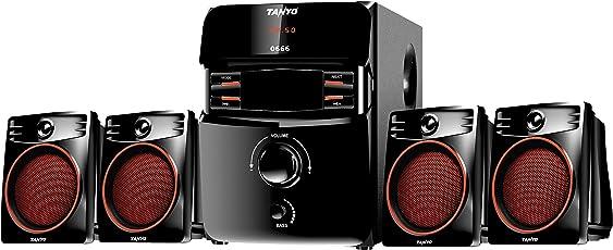 TANYO TA-0666 4.1 Channel Multimedia Speaker (Black)