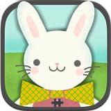 Jeux des lapins de Pâques pour enfants : les puzzles HD de chasse aux œufs de Pâques pour bambins et préscolaires - Gratuit...