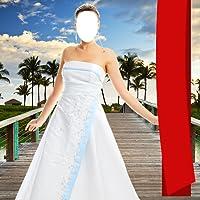 Hochzeitskleid Foto Montage
