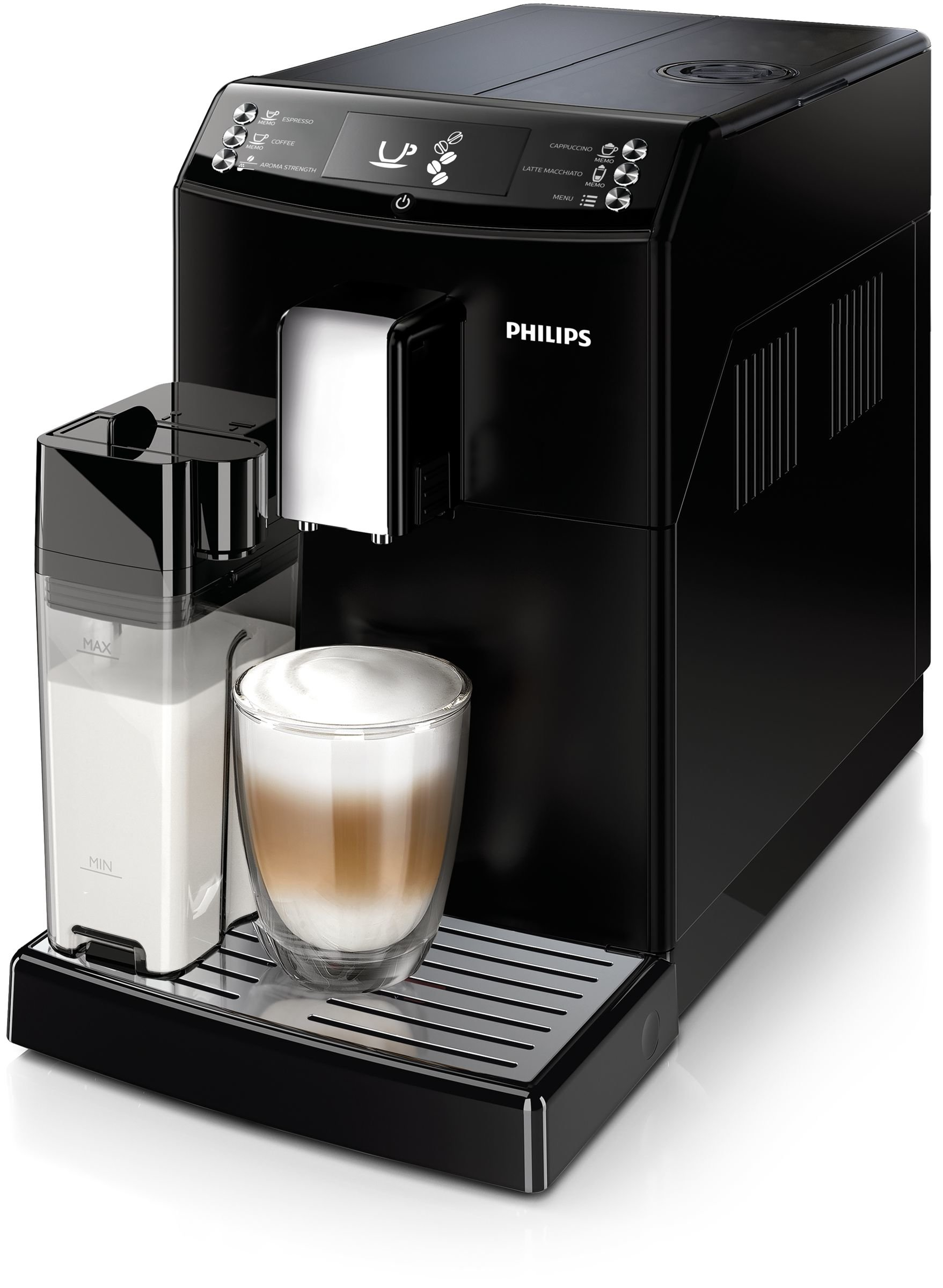 Philips-EP-355100-EP355100-Kaffeevollautomat-Polycarbonate-18-liters-Schwarz