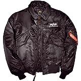 Alpha Industries Flight Jacket CWU 45, Size:M;Color:black
