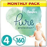 Pampers Pure Protection 8001841115979 Byxblöjor, Storlek: 4, 9-14 kg, vit