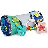 Baby Einstein, Rhythm of the Reef kussen met multisensorisch speelgoed, ideaal voor het spelen in de buikligging