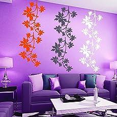 Kayra Decor Vinyl Plastic Reusable Wall Stencil for Decor/DIY Painting /Durable (Multi-colour, 16 x 24 inches)
