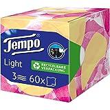 """Tempo """"Light Box"""" papieren handdoeken, dobbelstenen box met zakdoeken, 1 x 60 doeken"""