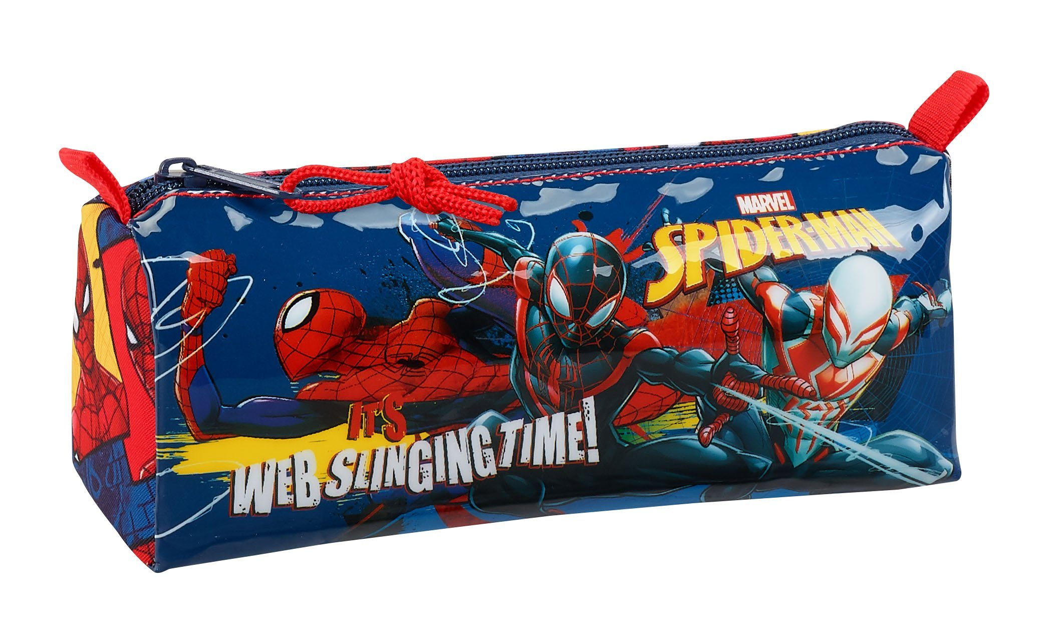 Safta Estuche Escolar Spiderman «Slinging Time» Oficial 210x70x80mm