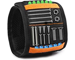 Magnetic Wristband Gadgets Gifts for Men,Gifts for Him,Christmas Gifts for Dad,Present for Men,Father Carpenter Men Gadgets G