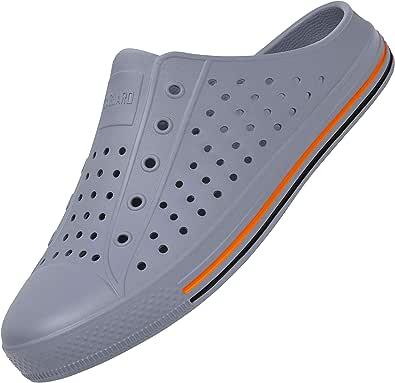 SAGUARO Summer Garden Clogs Lightweight Quick-Dry Mesh Slipper Walking Sandals Beach Pool Non-Slip Shoes Women Men for Indoor Outdoor