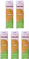 Colavita Spaghetti Organic Durum Wheat Pasta 500 g (Combo Pack of 5)