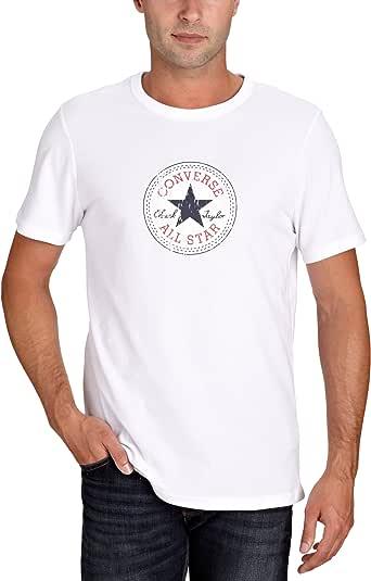 Converse Herren T Shirt Vintage Patch T Men, White, XL