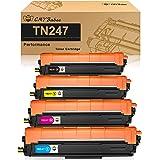 CMYBabee Cartucho de Tóner Compatible Repuesto para Brother TN247 TN243 para HL-L3210CW HL-L3230CDW HL-L3270CDW MFC-L3710CW M