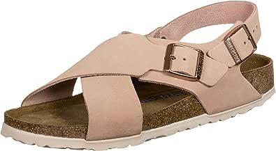 Birkenstock Womens Metallic Copper Arizona Sandals