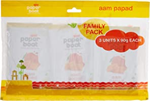 Paper Boat Aam Papad, 90g (Pack of 3)