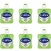Carex Dermacare Aloe Vera Antibacterial Hand Wash Pack of 6, Cleansing Hand Soap that's gentle and Protects Hands…