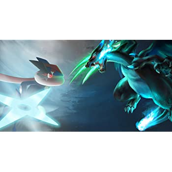 athah designs wall poster 13 19 inches matte finish pokémon mega