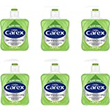 Carex Dermacare Aloe Vera Antibacterial Hand Wash Pack of 6, Cleansing Hand Soap that's gentle and Protects Hands, Antibacter