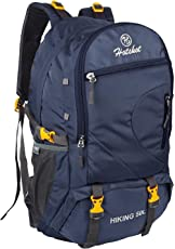 Hotshot Waterproof Travel Backpack for Outdoor Sport Camp Hiking Trekking Bag Camping Rucksack, 50 L (Navy Blue)