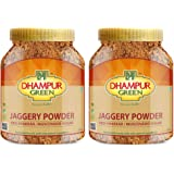 Dhampure Speciality Natural Jaggery Powder, Organic Natural Desi Shakkar Gur Gud Powder, Free from Chemical, Fertilizers & Pe