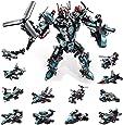 MOONTOY STEM Spielzeug, 577 PCS Roboter Spielzeug für 6-jährige Jungen, 25-in-1-Space-Fighter-Bausteine für das Universum Kinder im Alter von 5 6 7 8 9 10 11 12 Jahren