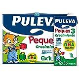 Puleva Peques 3 Leche de Crecimiento Tipo 3 Pack de 6 x 1Lt