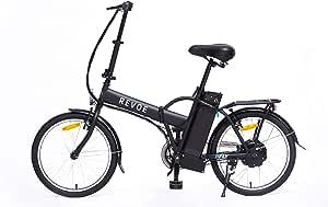 REVOE Fly, Bicicletta Elettrica Pieghevole 20' Misto ...