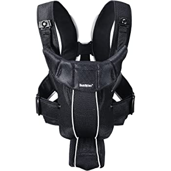 BABYBJÖRN Baby Carrier Active (Black, Mesh)