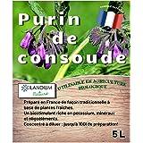 Purin de consoude 5L (existe en 2L )   100% naturel liquide et concentré   Made in France   Jusqu'à 100L de produit   Biostim