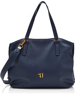 Nero Trussardi Jeans Mimosa Tote Ooth, Borsa Donna, 34x25x16