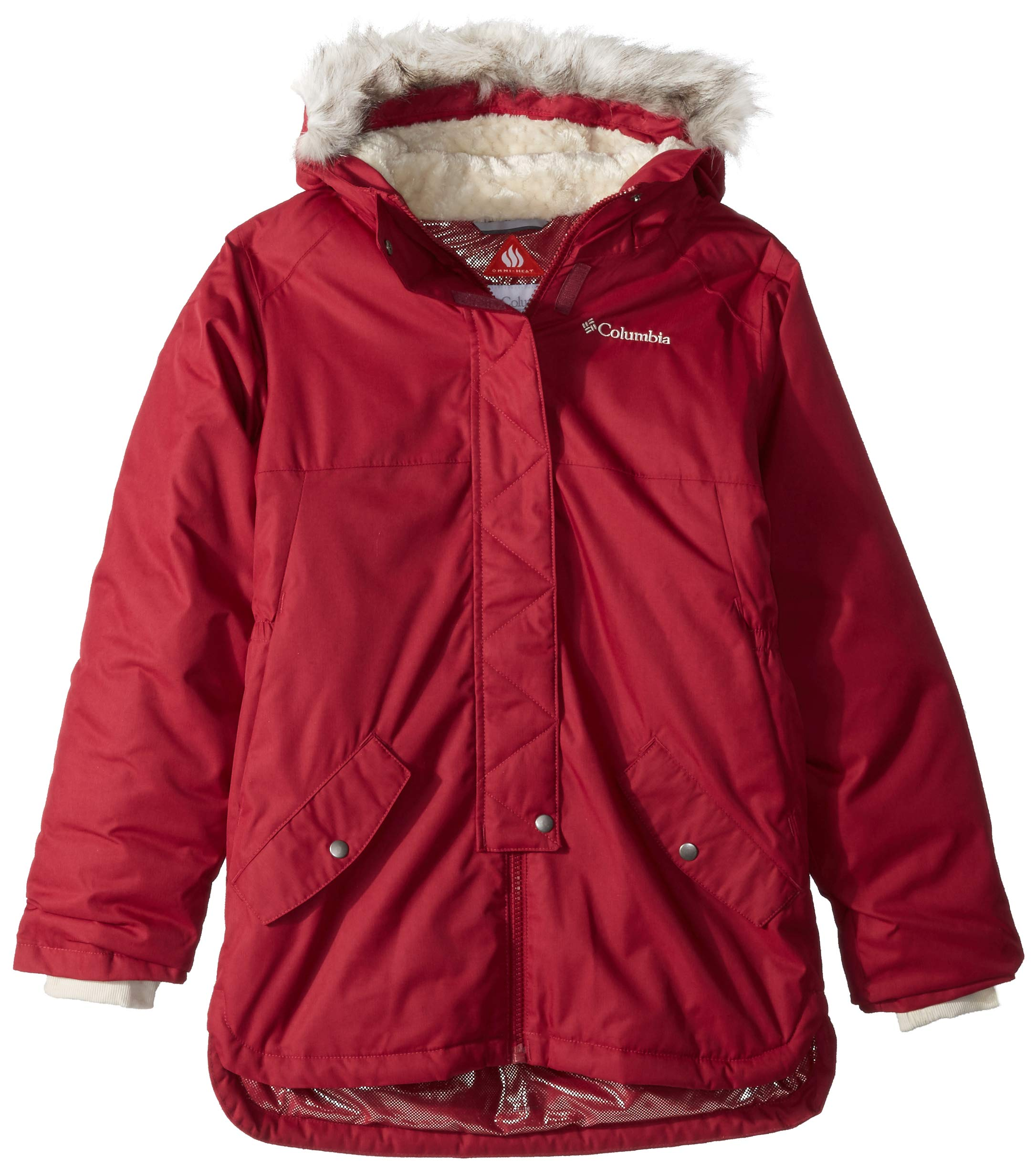 Columbia Girls' Mid-Length Waterproof Jacket, Carson Pass 1